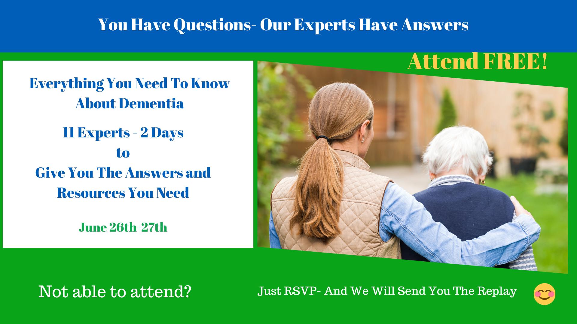 Online Caregiver Conference Banner